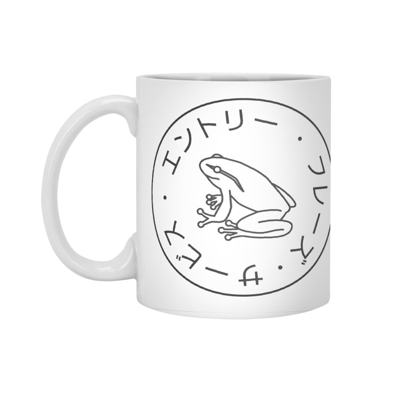 Frog Society Accessories Standard Mug by Speakerine / Florent Bodart