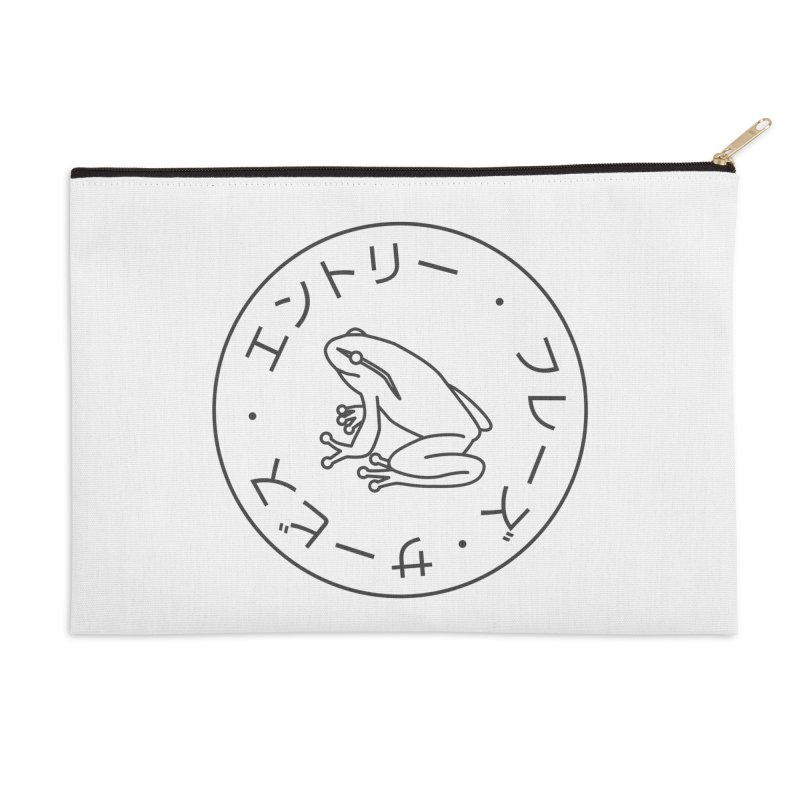Frog Society Accessories Zip Pouch by Speakerine / Florent Bodart