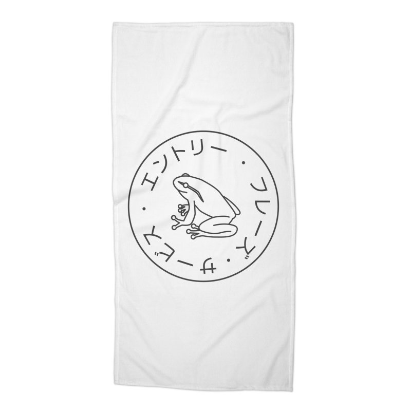 Frog Society Accessories Beach Towel by Speakerine / Florent Bodart