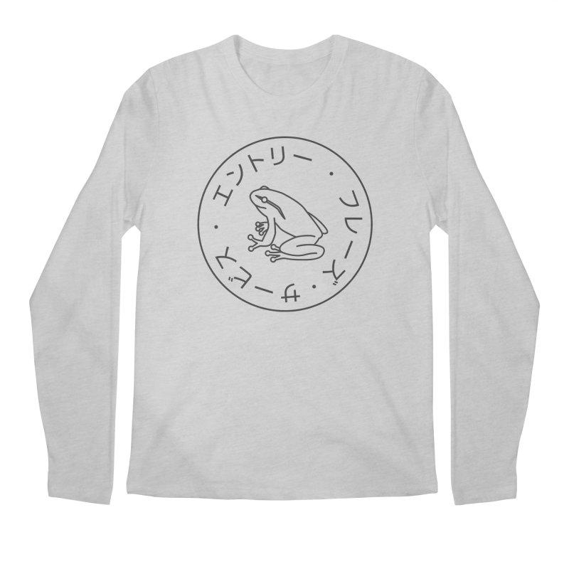 Frog Society Men's Regular Longsleeve T-Shirt by Speakerine / Florent Bodart