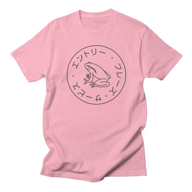 Frog Society Men's Regular T-Shirt by Speakerine / Florent Bodart