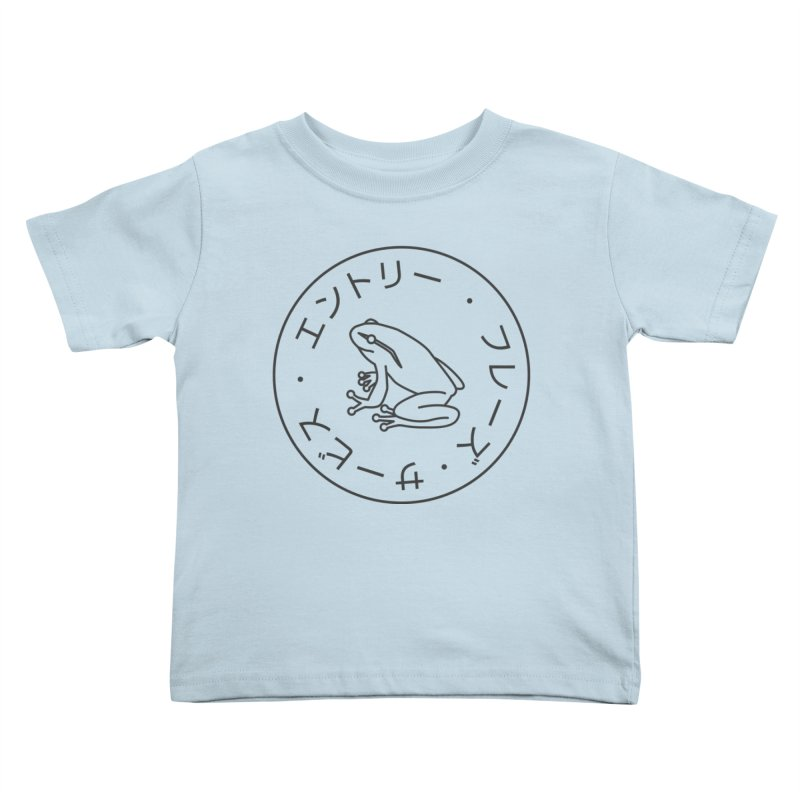 Frog Society Kids Toddler T-Shirt by Speakerine / Florent Bodart