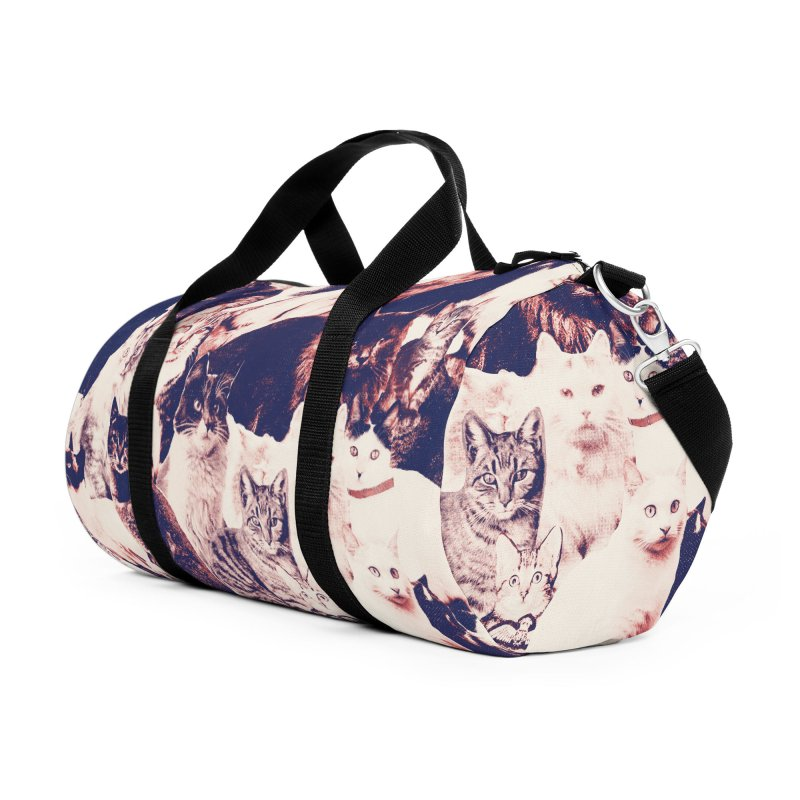 Cats Forever Accessories Duffel Bag Bag by Speakerine / Florent Bodart