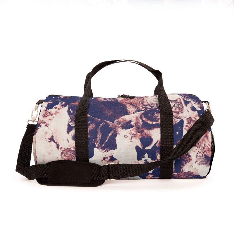 Cats Forever Accessories Bag by Speakerine / Florent Bodart