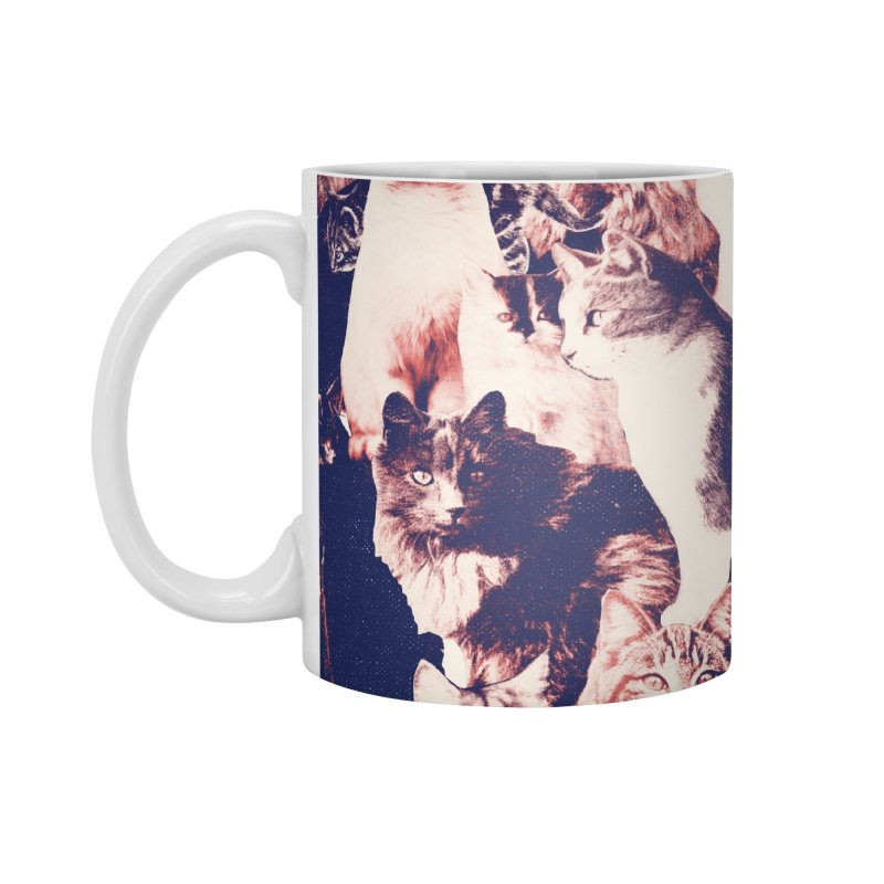 Cats Forever Accessories Standard Mug by Speakerine / Florent Bodart