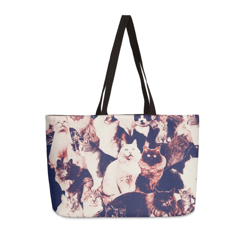 Cats Forever Accessories Weekender Bag Bag by Speakerine / Florent Bodart