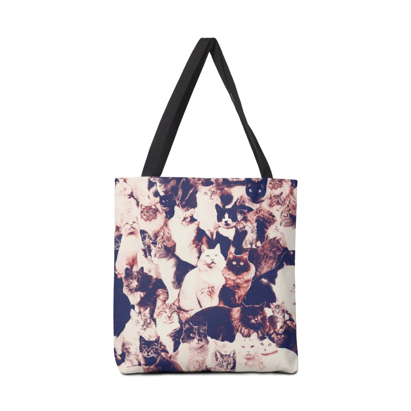 Cats Forever Accessories Tote Bag Bag by Speakerine / Florent Bodart