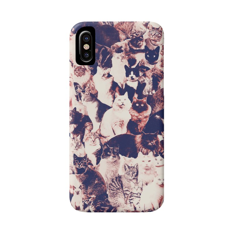 Cats Forever Accessories Phone Case by Speakerine / Florent Bodart