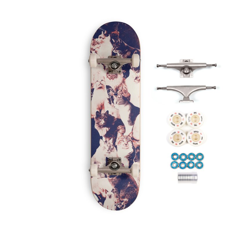 Cats Forever Accessories Complete - Premium Skateboard by Speakerine / Florent Bodart
