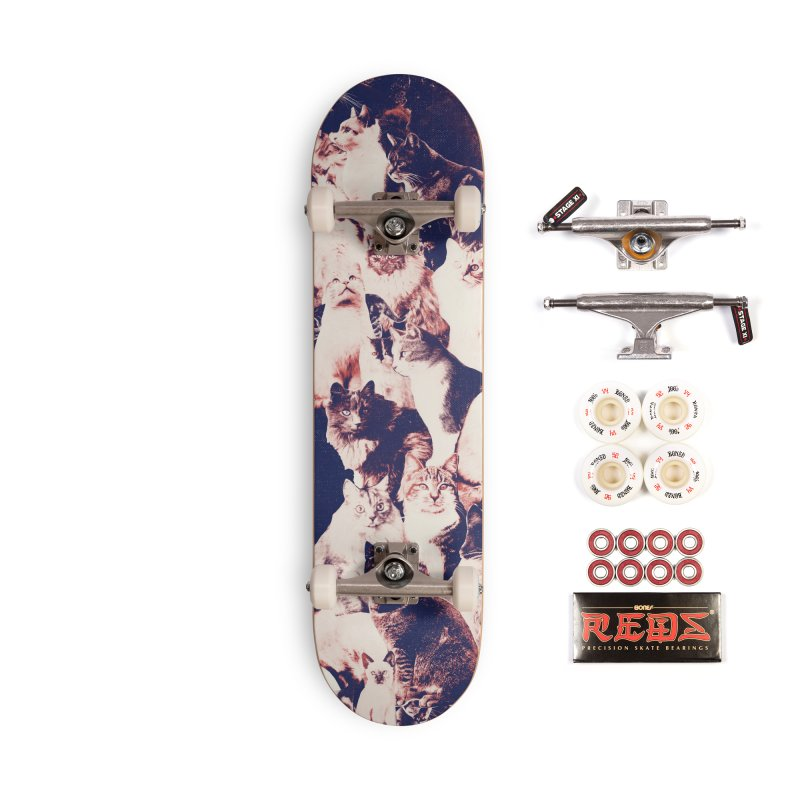 Cats Forever Accessories Complete - Pro Skateboard by Speakerine / Florent Bodart