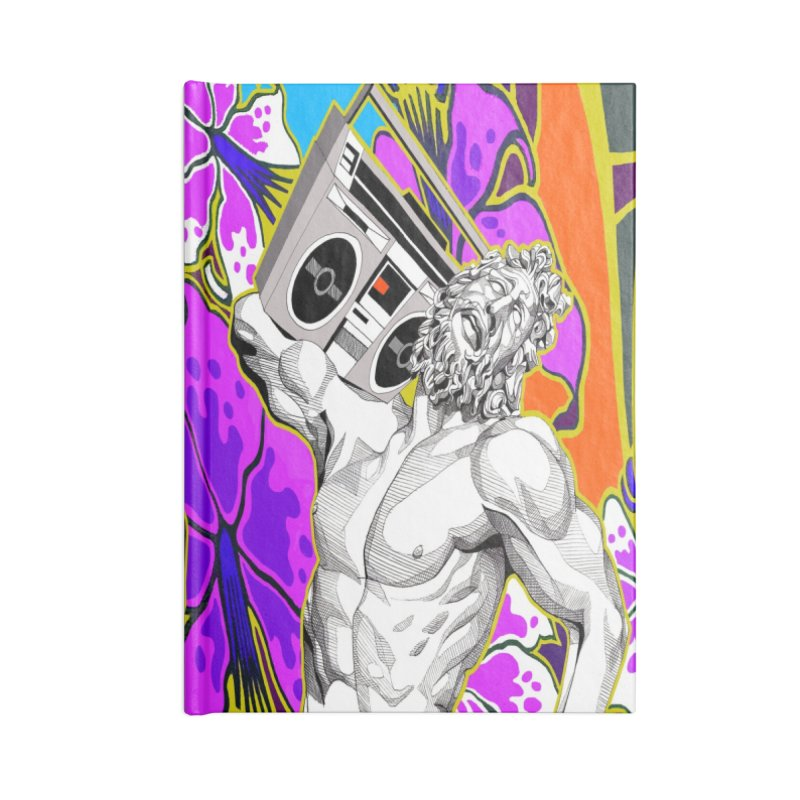 Audio Statue Accessories Notebook by Spearlife Store - Original Art from Me to You