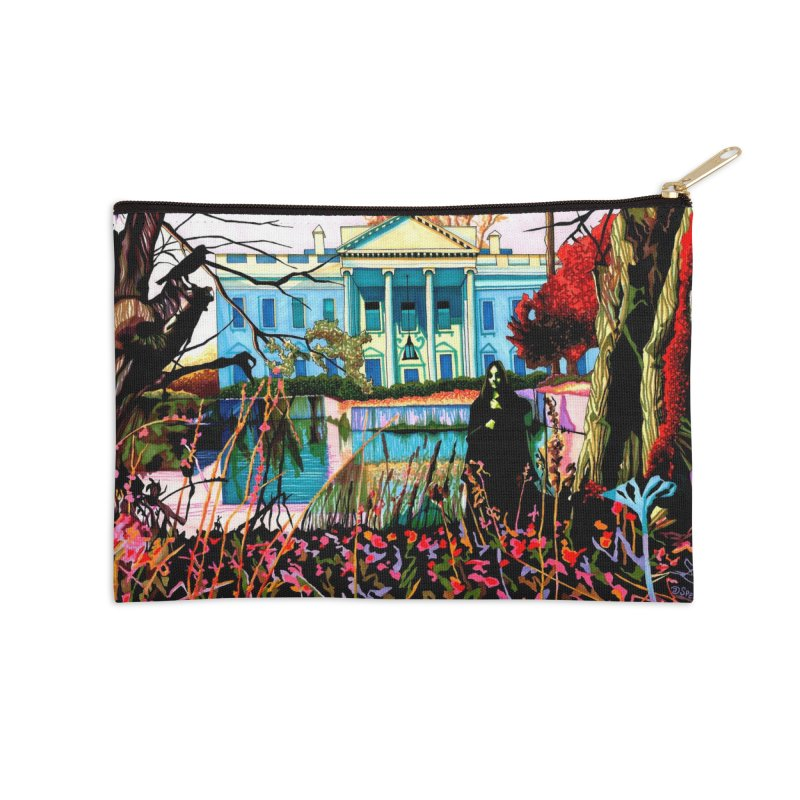 The Black House - What is this that stands before me Accessories Zip Pouch by Spearlife Store - Original Art from Me to You