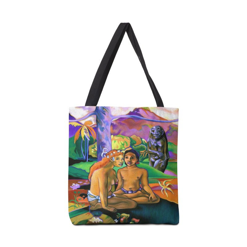 The Death of Gauguin - Artwork inspired by Paul Gauguin Accessories Bag by Spearlife Store - Original Art from Me to You