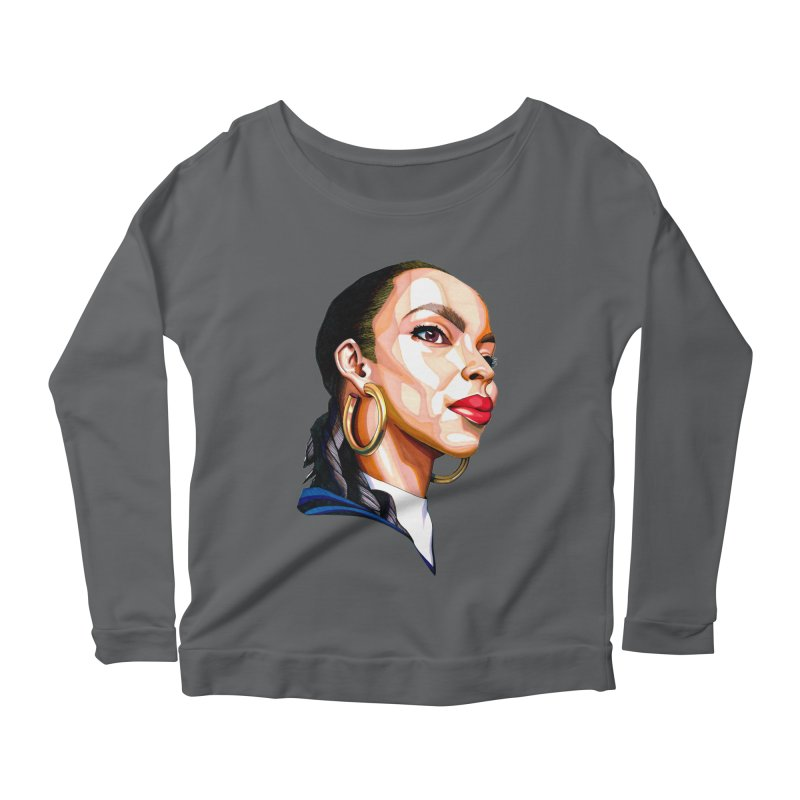 Tribute to The Smooth Operator Women's Longsleeve T-Shirt by Spearlife Store - Original Art from Me to You
