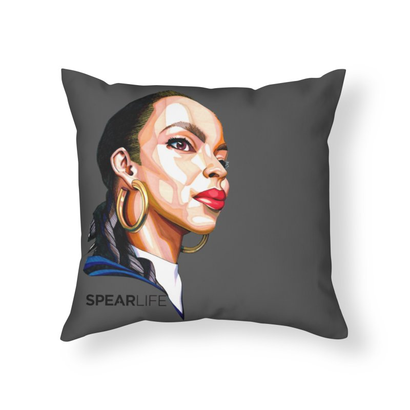 Tribute to The Smooth Operator Home Throw Pillow by Spearlife Store - Original Art from Me to You