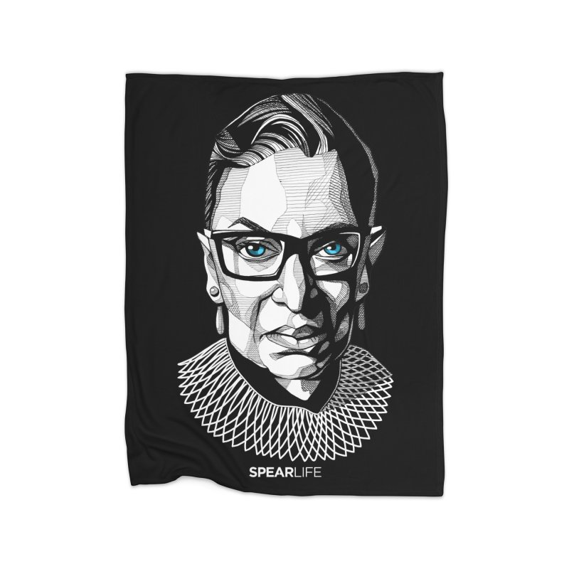 Tribute to RBG Home Blanket by Spearlife Store - Original Art from Me to You