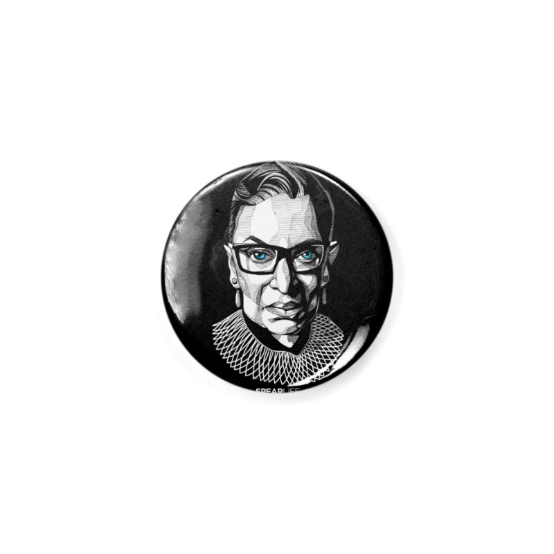 Tribute to RBG Accessories Button by Spearlife Store - Original Art from Me to You