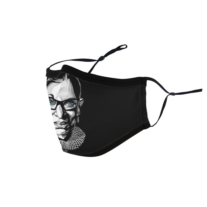 Tribute to RBG Accessories Face Mask by Spearlife Store - Original Art from Me to You