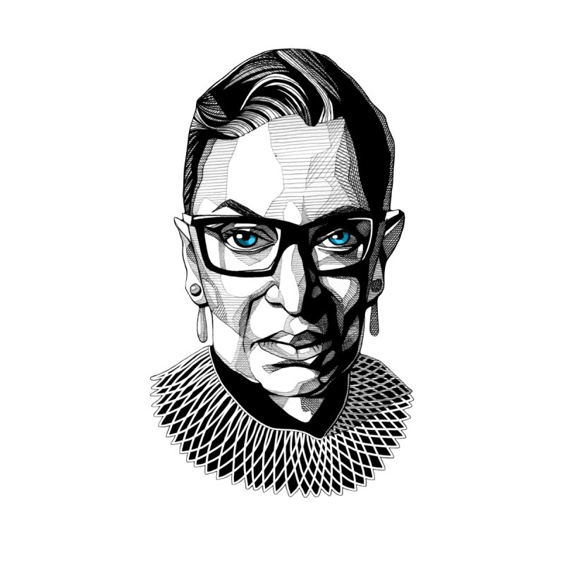 Tribute to RBG Men's T-Shirt by Spearlife Store - Original Art from Me to You