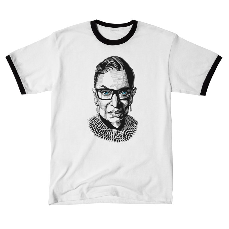 Tribute to RBG Women's T-Shirt by Spearlife Store - Original Art from Me to You