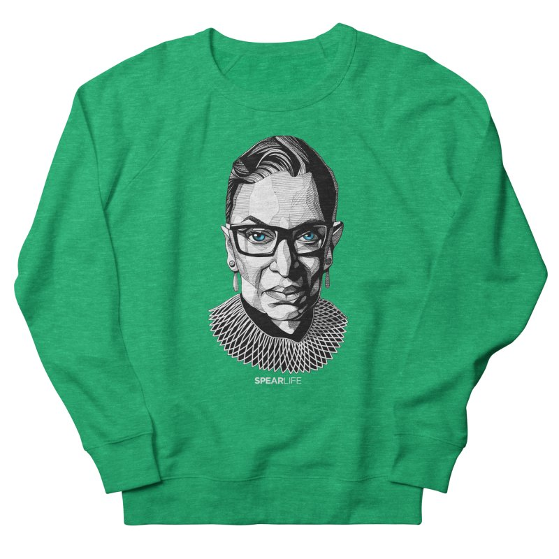 Tribute to RBG Women's Sweatshirt by Spearlife Store - Original Art from Me to You