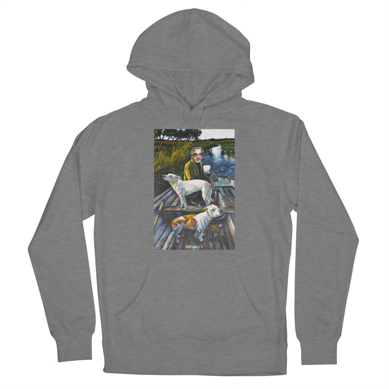 One dog is looking one way - The other dog is looking the other way Women's Pullover Hoody by Spearlife Store - Original Art from Me to You