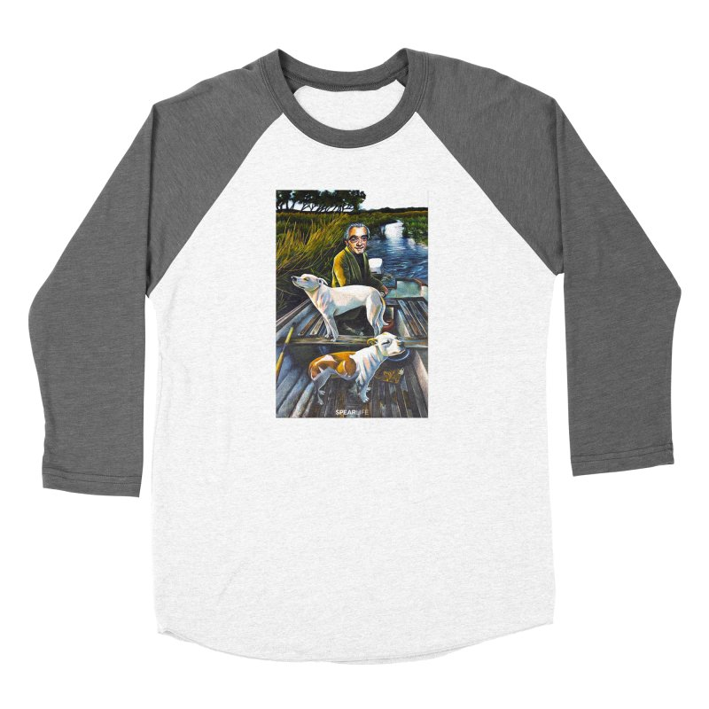 One dog is looking one way - The other dog is looking the other way Women's Longsleeve T-Shirt by Spearlife Store - Original Art from Me to You
