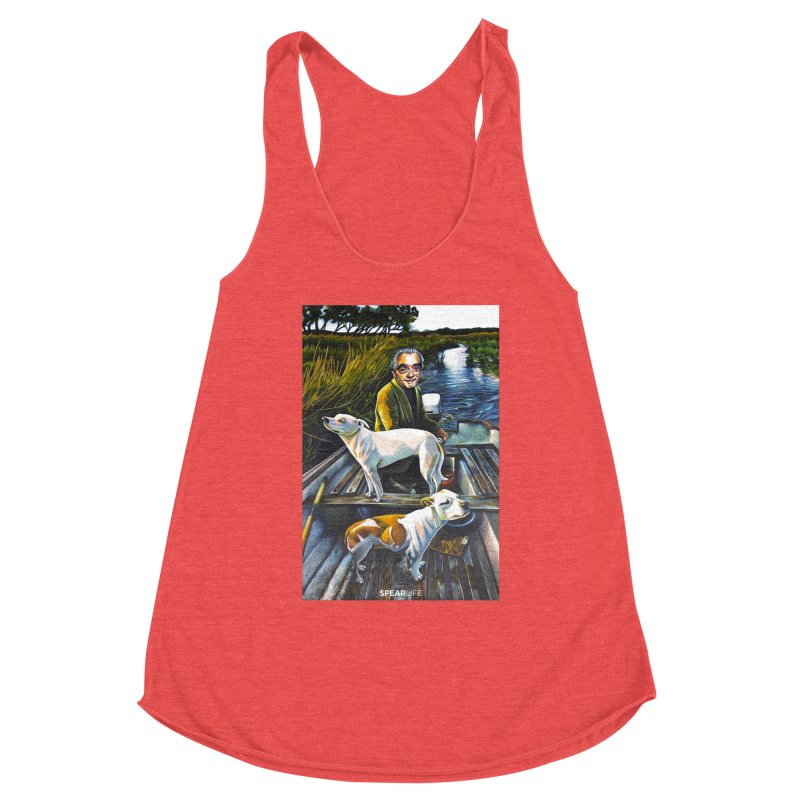 One dog is looking one way - The other dog is looking the other way Women's Tank by Spearlife Store - Original Art from Me to You