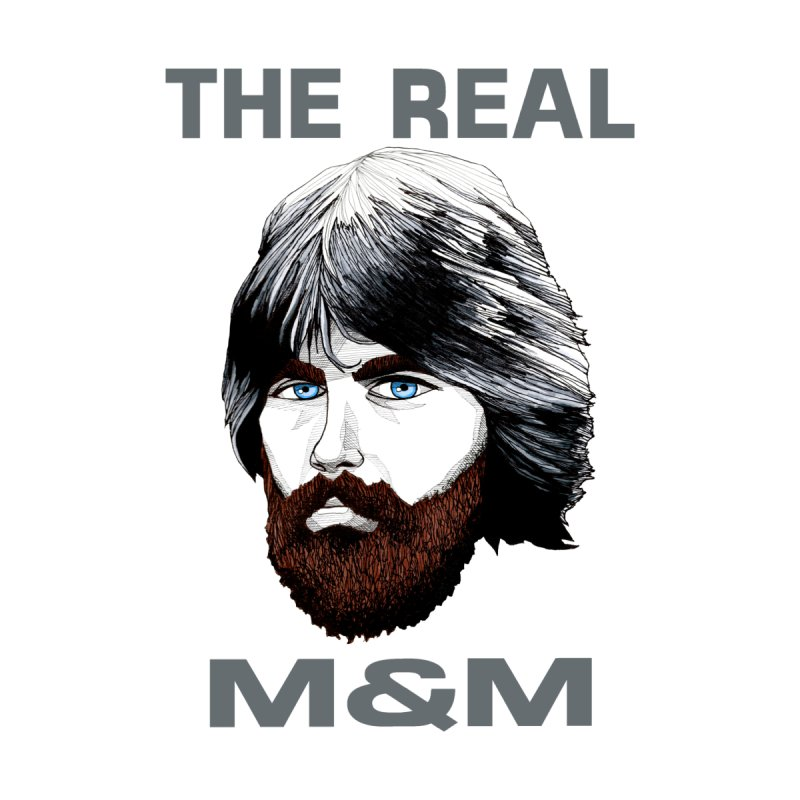 The Real M&M Men's T-Shirt by Spearlife Store - Original Art from Me to You