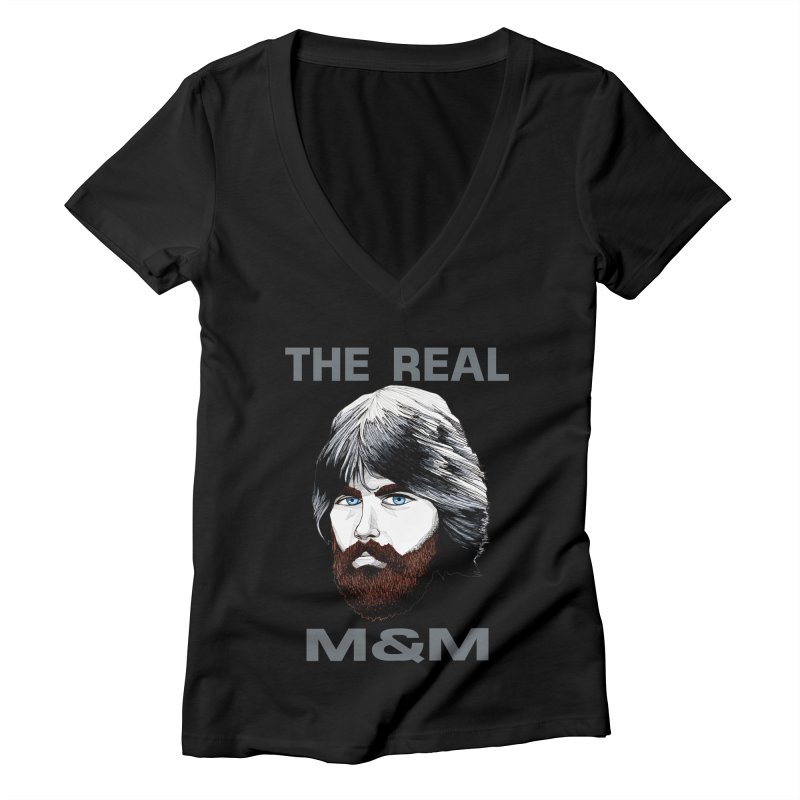 The Real M&M Women's V-Neck by Spearlife Store - Original Art from Me to You