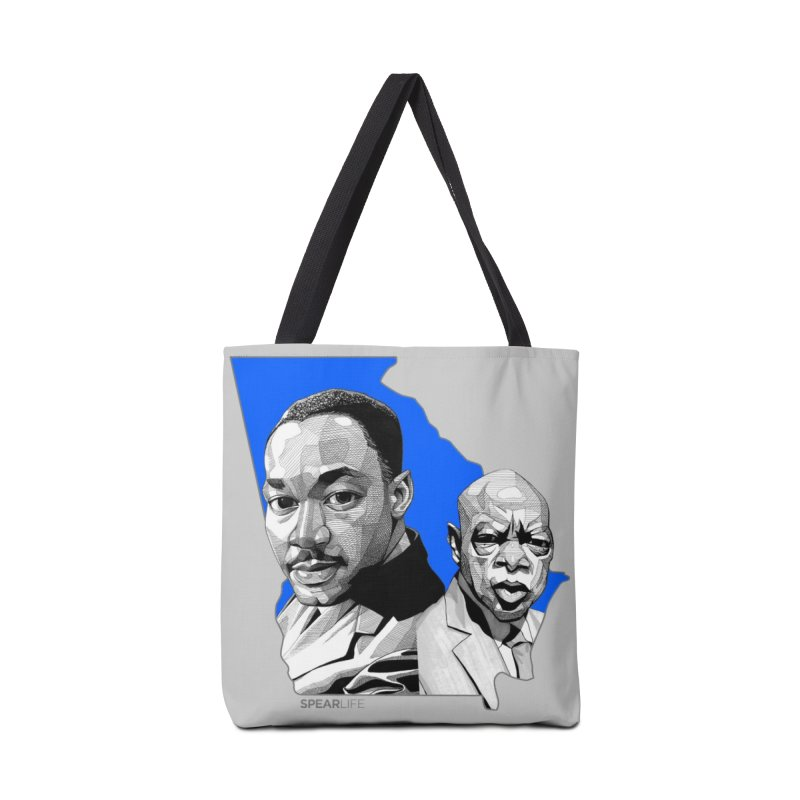 Georgia on my mind Accessories Bag by Spearlife Store - Original Art from Me to You