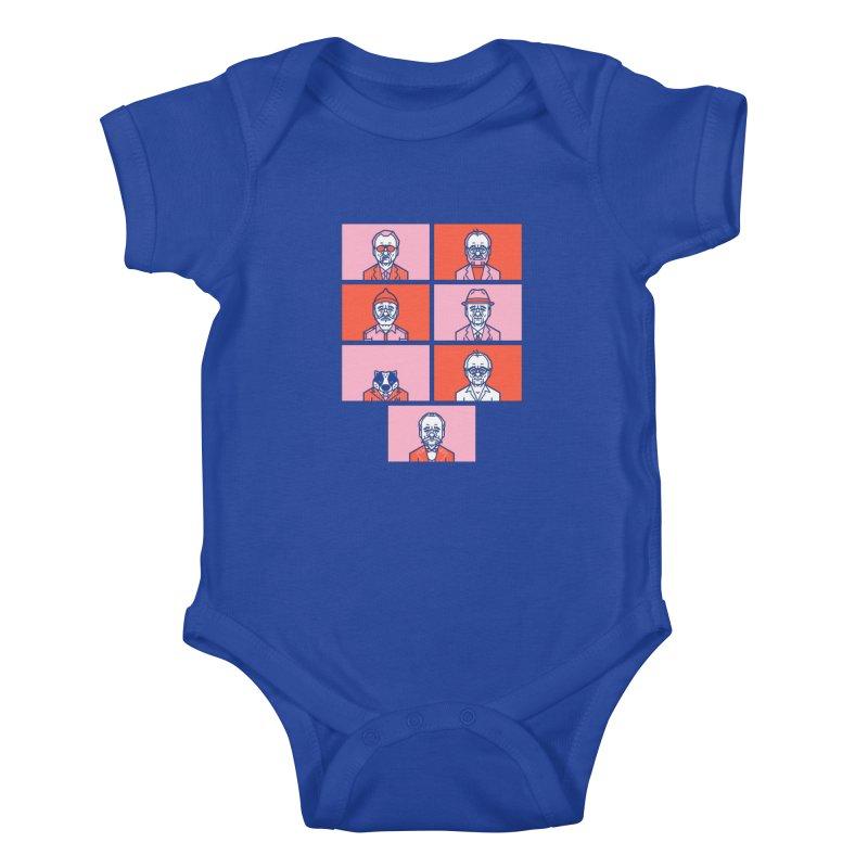 Bill x Wes Kids Baby Bodysuit by Spencer Fruhling's Artist Shop