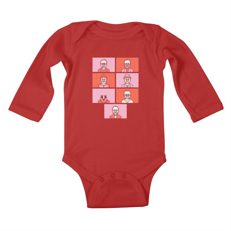 Bill x Wes Kids Baby Longsleeve Bodysuit by Spencer Fruhling's Artist Shop
