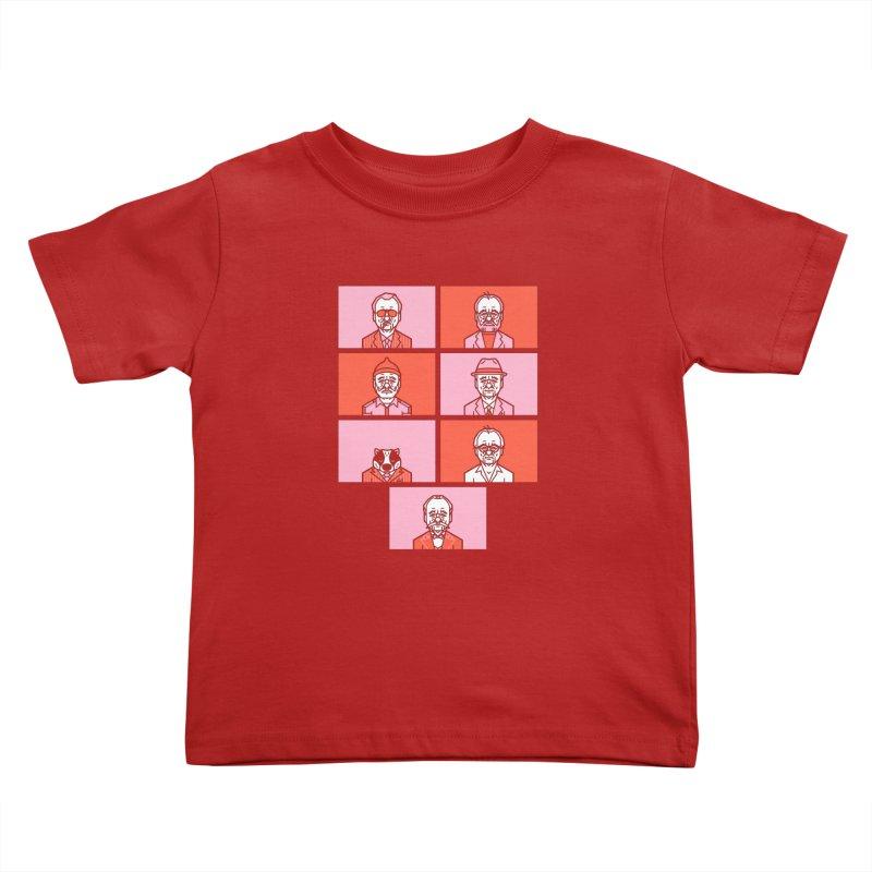 Bill x Wes Kids Toddler T-Shirt by Spencer Fruhling's Artist Shop