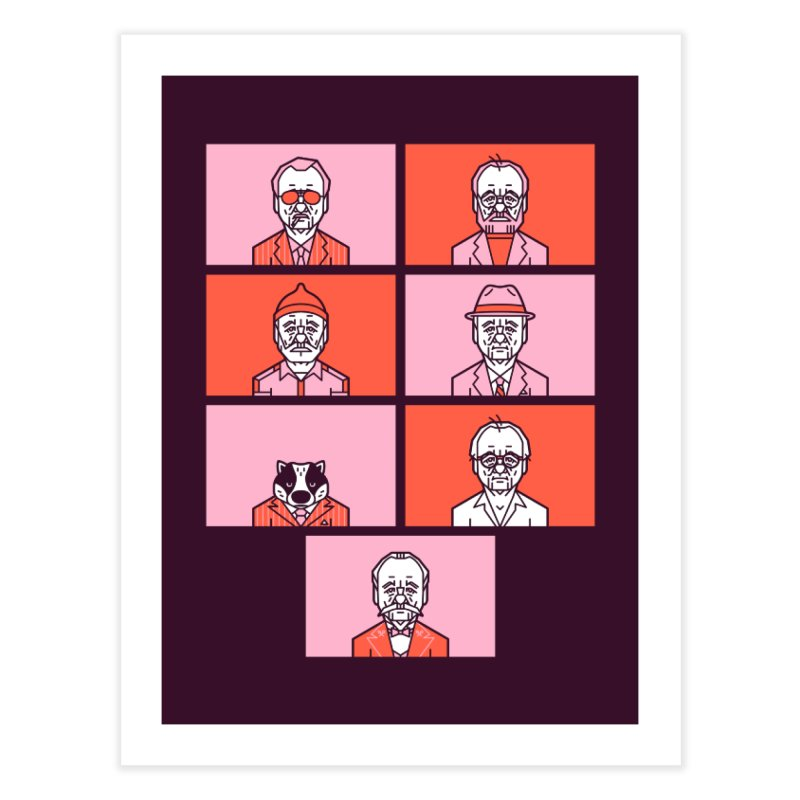 Bill x Wes Home Fine Art Print by Spencer Fruhling's Artist Shop
