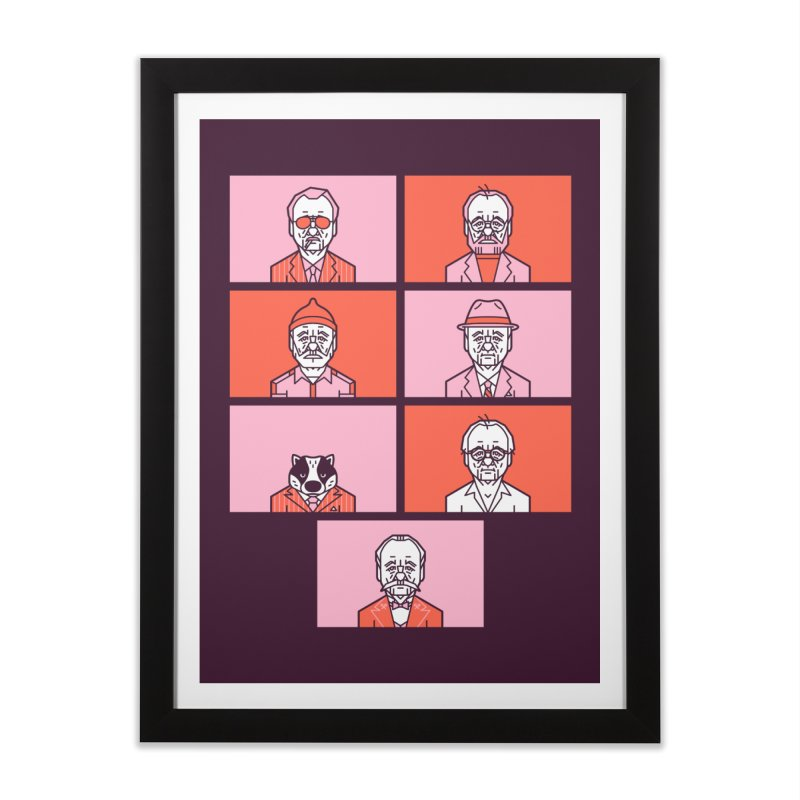 Bill x Wes Home Framed Fine Art Print by Spencer Fruhling's Artist Shop