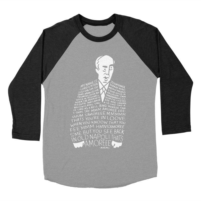 John Daker Women's Baseball Triblend T-Shirt by Spencer Fruhling's Artist Shop