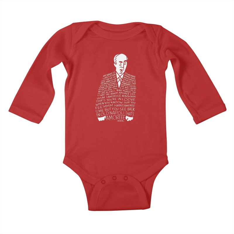 John Daker Kids Baby Longsleeve Bodysuit by Spencer Fruhling's Artist Shop