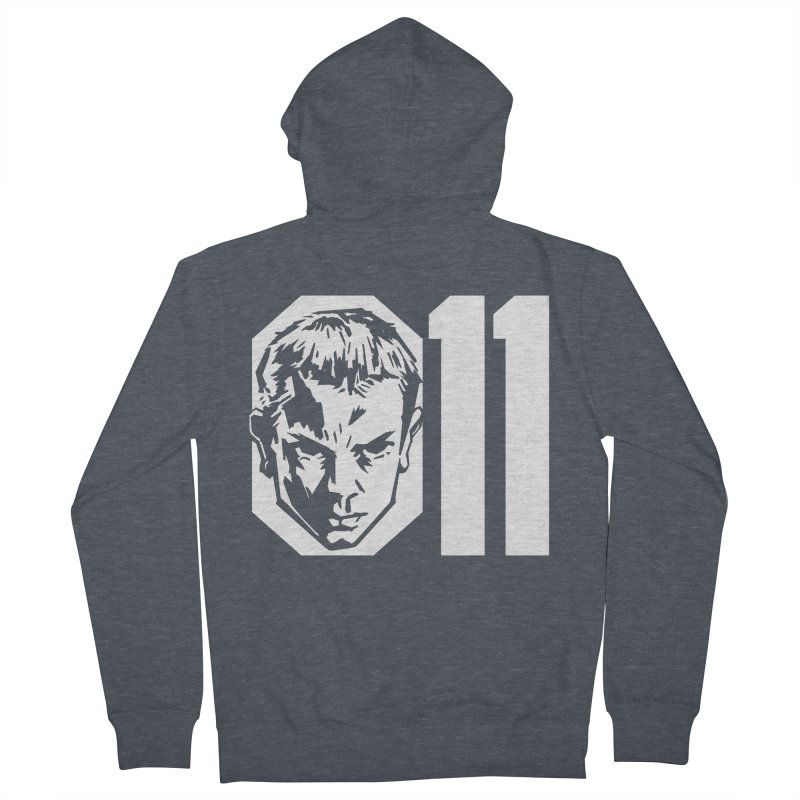 011 Men's Zip-Up Hoody by Spencer Fruhling's Artist Shop