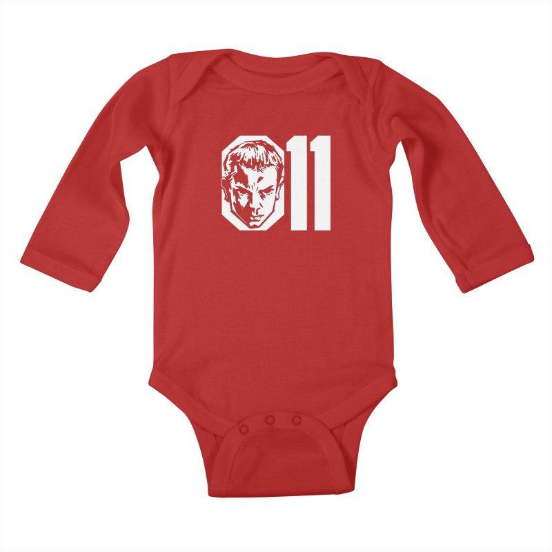 011 Kids Baby Longsleeve Bodysuit by Spencer Fruhling's Artist Shop