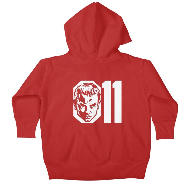 011 Kids Baby Zip-Up Hoody by Spencer Fruhling's Artist Shop