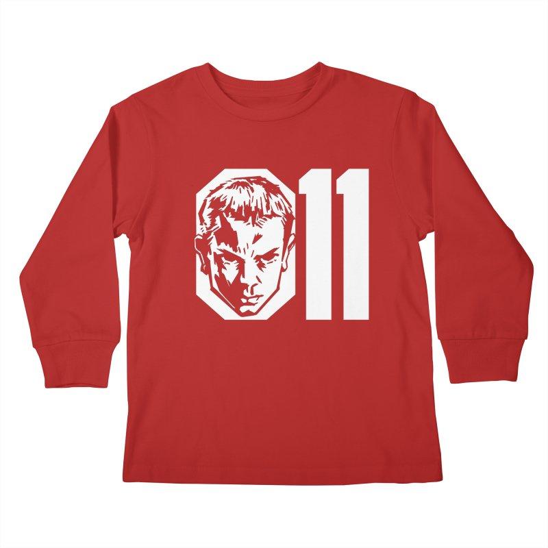 011 Kids Longsleeve T-Shirt by Spencer Fruhling's Artist Shop