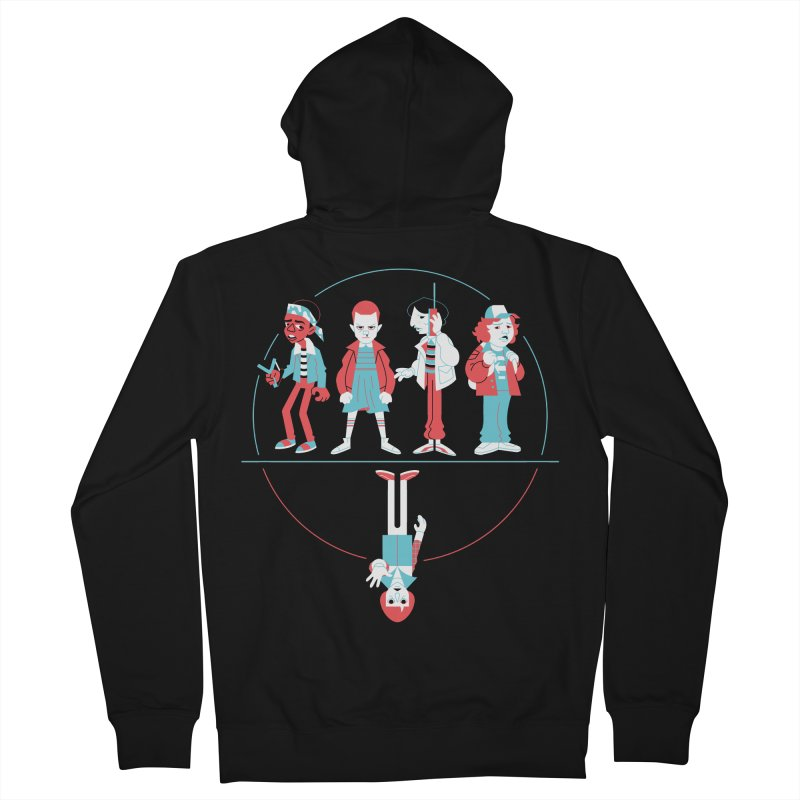 Stranger Kids Men's Zip-Up Hoody by Spencer Fruhling's Artist Shop