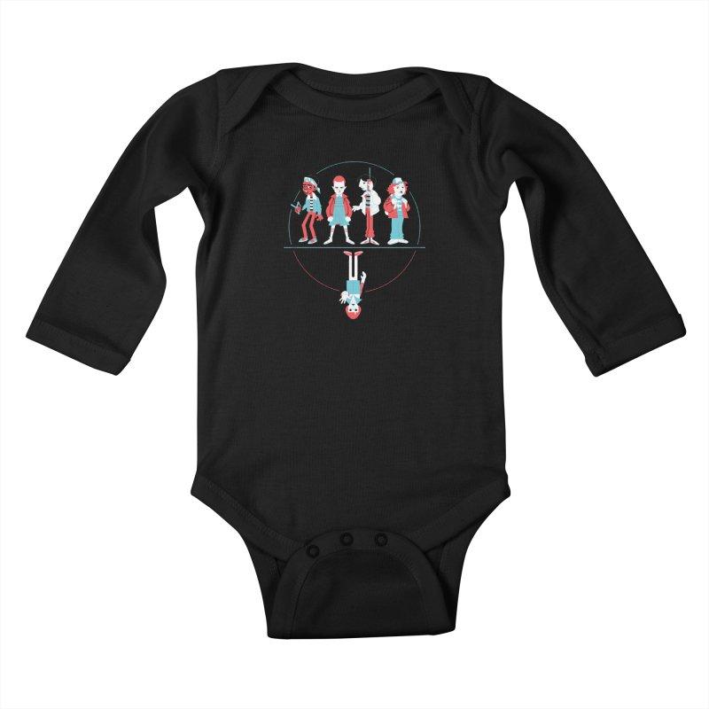 Stranger Kids Kids Baby Longsleeve Bodysuit by Spencer Fruhling's Artist Shop
