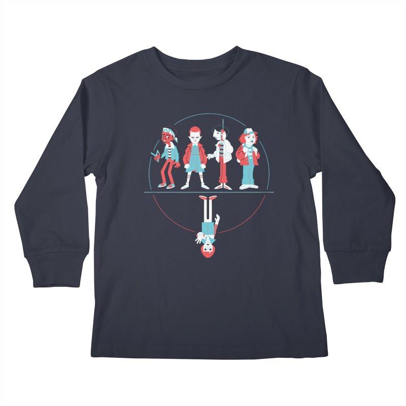 Stranger Kids Kids Longsleeve T-Shirt by Spencer Fruhling's Artist Shop