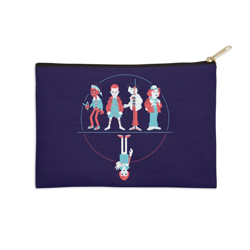 Stranger Kids Accessories Zip Pouch by Spencer Fruhling's Artist Shop