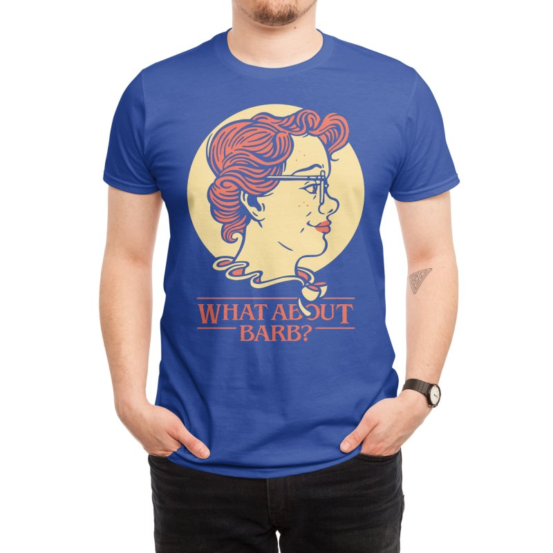 What About Barb? Men's T-Shirt by Spencer Fruhling's Artist Shop