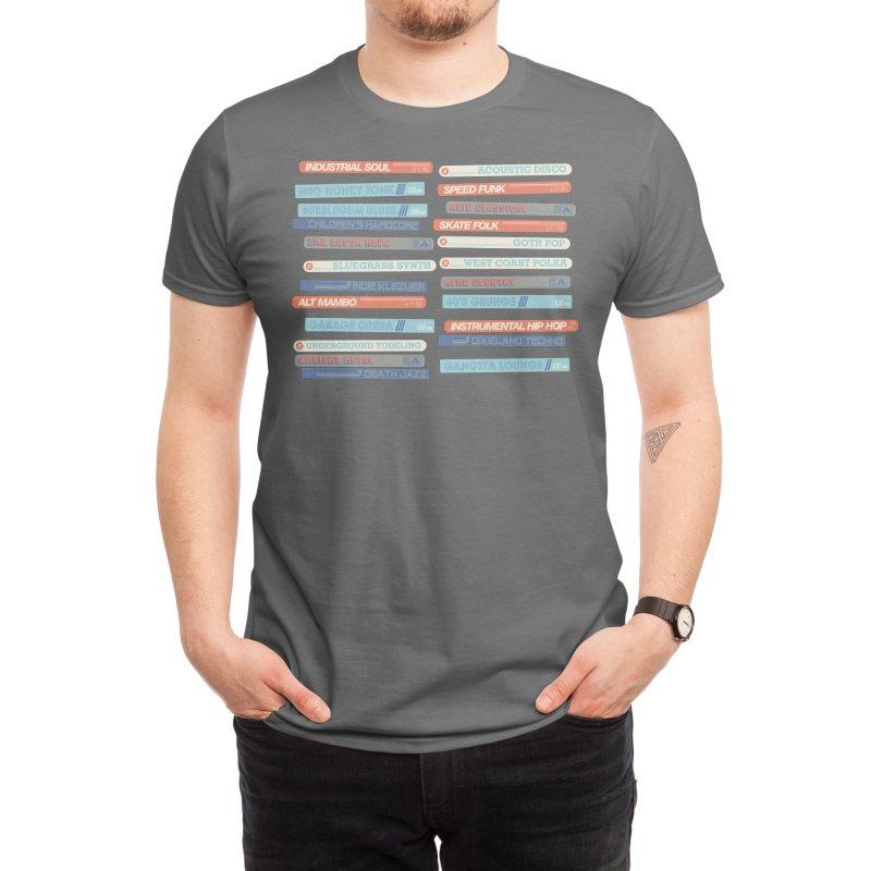Music Snob Men's T-Shirt by Spencer Fruhling's Artist Shop