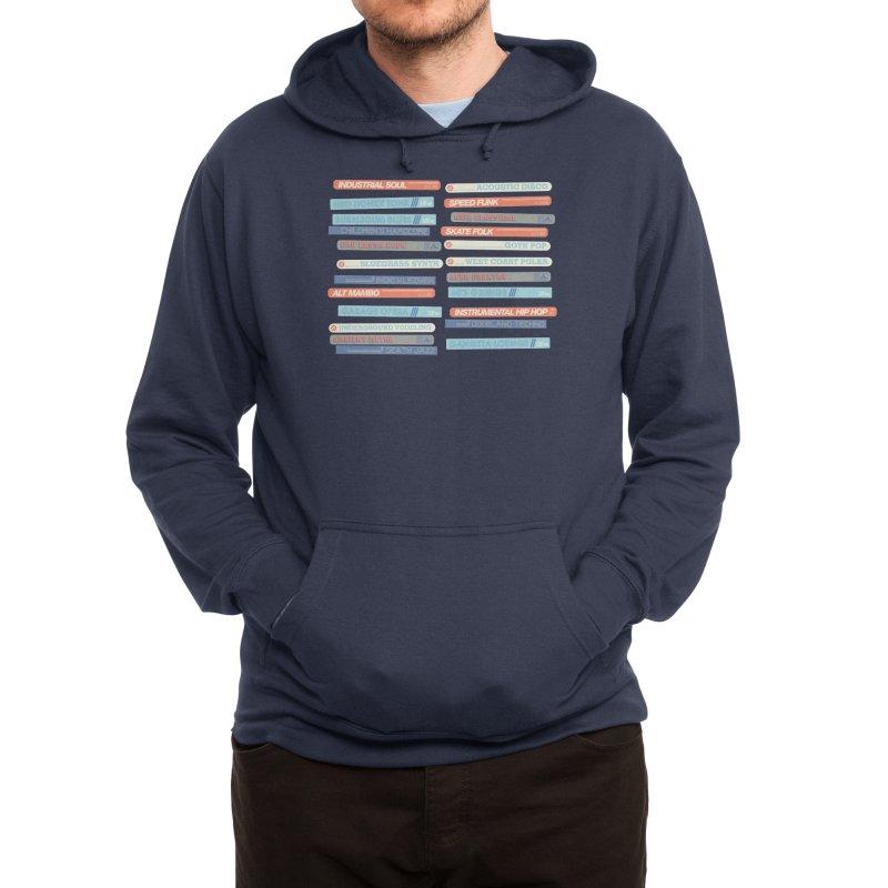 Music Snob Men's Pullover Hoody by Spencer Fruhling's Artist Shop