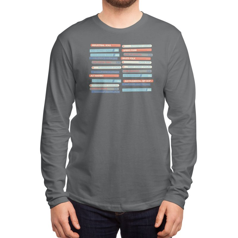 Music Snob Men's Longsleeve T-Shirt by Spencer Fruhling's Artist Shop